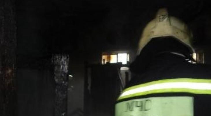 В Йошкар-Оле на улице Гагарина случился пожар
