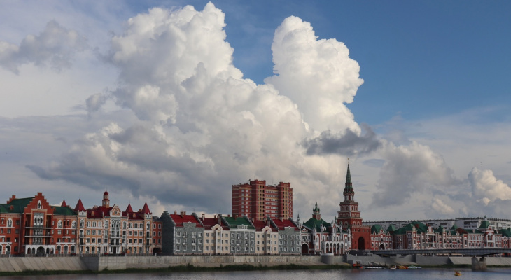 Йошкар-Олинское небо вновь затянет серыми облаками